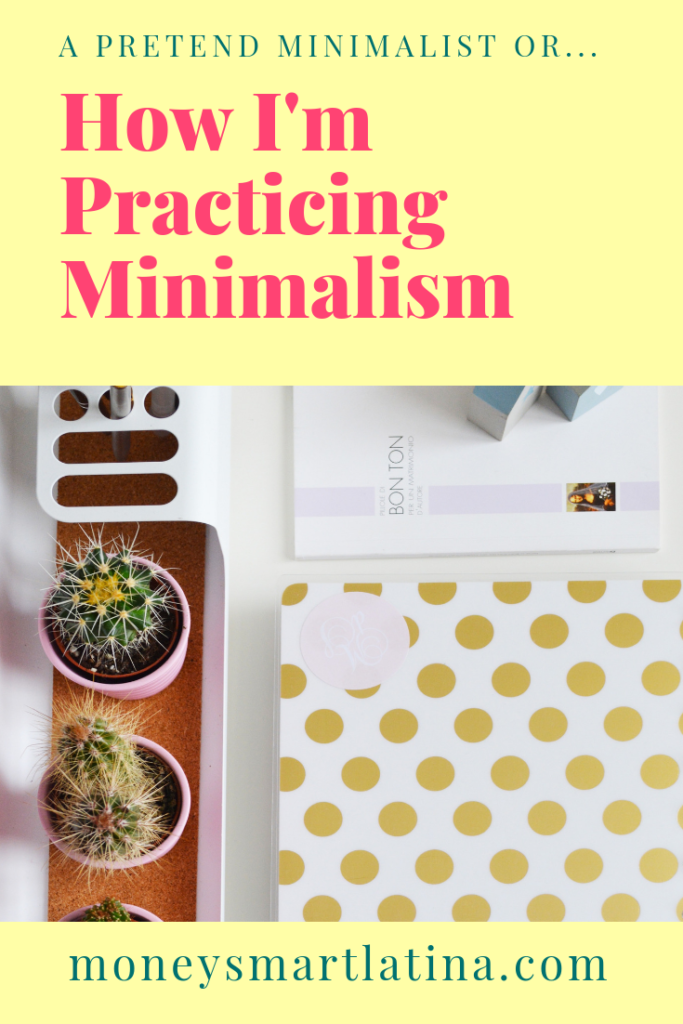 As a rookie to minimalism, I'm not perfect. But, trying to practice minimalism in all areas of my life has been helpful and I hope my examples can help you too.